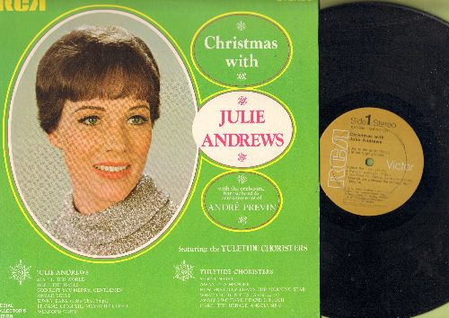 Andrews, Julie - Christmas With Julie Andrews: Joy To The World, Jingle Bells, Silent Night, Deck The Halls (vinyl STEREO LP record) - EX8/NM9 - LP Records