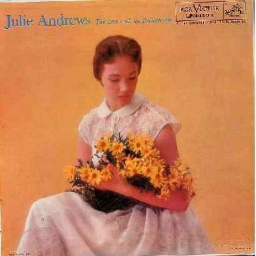 Andrews, Julie - Julie Andrews - The Lass With The Delicate Air: Tally-Ho!, Canterbury Fair, O The Days Of The Kerry Dancing, London Pride, As I Went A-Roaming (Vinyl MONO LP record) - NM9/EX8 - LP Records