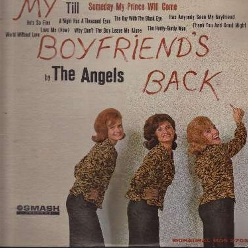 Angels - My Boyfriend's Back: Till, A Night Has A Thousand Eyes(Vinyl MONO LP record) - VG6/VG7 - LP Records