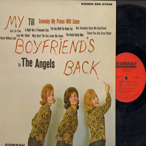 Angels - My Boyfriend's Back: Till, A Night Has A Thousand Eyes, The Guy With The Black Eye, Thank You And Good Night, Love Me (Now), He's So Fine (Vinyl STEREO LP record) - EX8/NM9 - LP Records