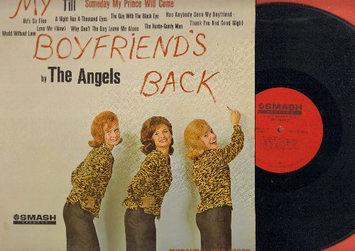 Angels - My Boyfriend's Back: Till, A Night Has A Thousand Eyes(Vinyl MONO LP record) - EX8/EX8 - LP Records