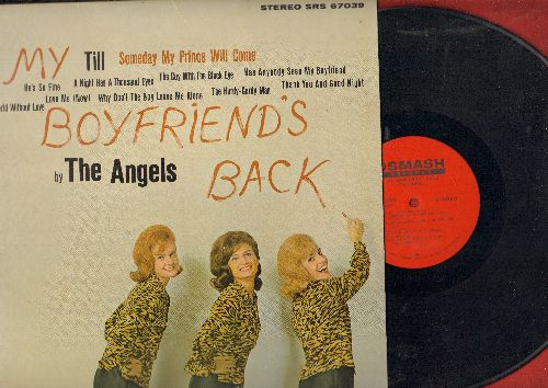 Angels - My Boyfriend's Back: Till, A Night Has A Thousand Eyes, The Guy With The Black Eye, Thank You And Good Night, Love Me (Now), He's So Fine (Vinyl STEREO LP record) - VG6/VG7 - LP Records
