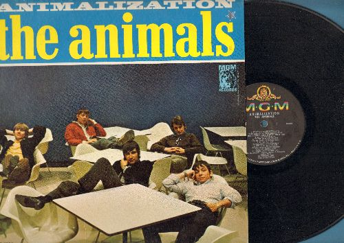 Animals - Animalization: Don't Bring Me Down, One Monkey Won't Stop The Show, I Put A Spell On You, What Am I Living For (Vinyl MONO LP record) - EX8/EX8 - LP Records