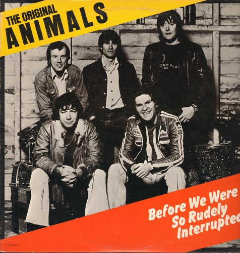 Animals - Before We Were So Rudely Interrupted: Brother Bill (The Last Clean Shirt), Fire On The Sun, Lonely Avenue, The Fool (Vinyl LP record) - NM9/VG7 - LP Records