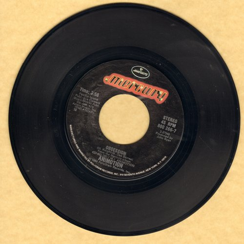 Animotion - Obsession/Turn Around  - NM9/ - 45 rpm Records