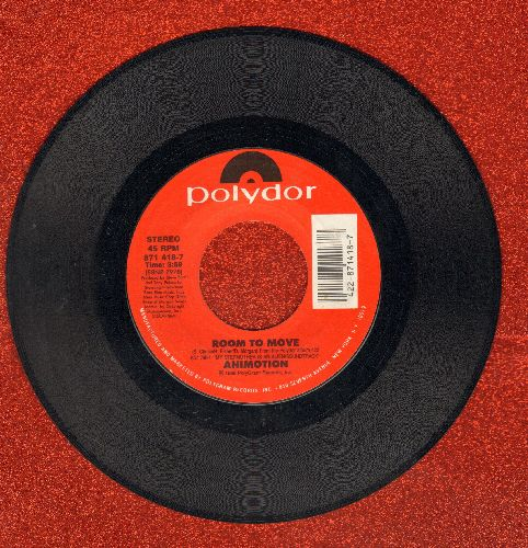 Animotion - Room To Move/Bring It Over - NM9/ - 45 rpm Records