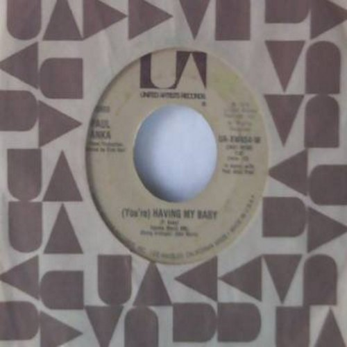 Anka, Paul - You're Having My Baby/Papa  - NM9/ - 45 rpm Records