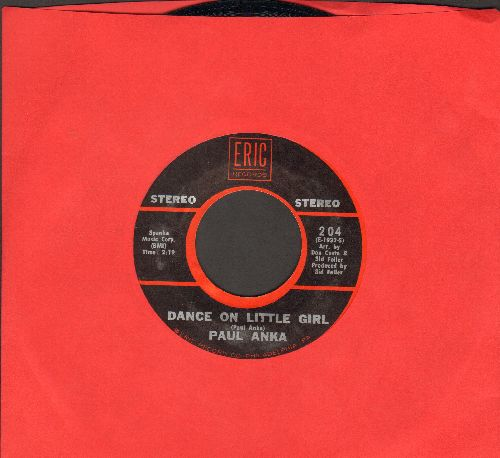 Anka, Paul - Dance On Little Girl/Tonight, My Love, Tonight (double-hit re-issue) - NM9/ - 45 rpm Records