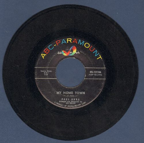 Anka, Paul - My Home Town/Something Happened - EX8/ - 45 rpm Records