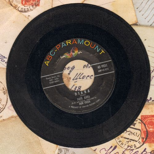 Anka, Paul - Diana/Don't Gamble With Love  - VG6/ - 45 rpm Records