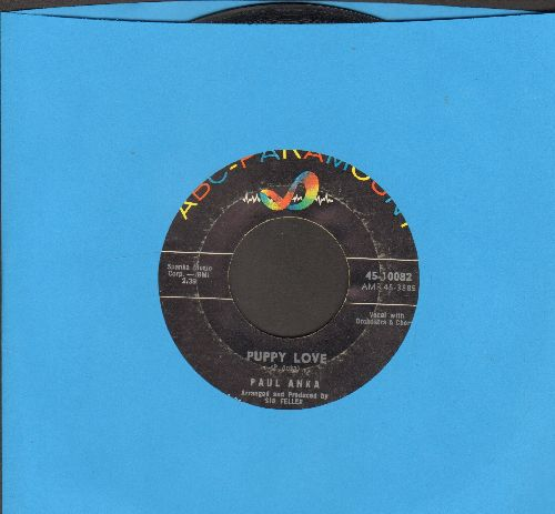 Anka, Paul - Puppy Love/Adam And Eve  (sol) - EX8/ - 45 rpm Records