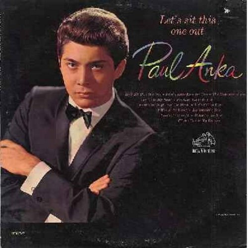 Anka, Paul - Let's Sit This One Out: I Only Have Eyes For You, The Nearness Of You, Let's Fall In Love, Embraceable You, I'll See You In My Dreams (Vinyl MONO LP record) - EX8/VG7 - LP Records