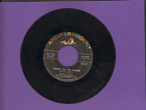 Anka, Paul - Cinderella/Kissin' On The Phone  - VG7/ - 45 rpm Records