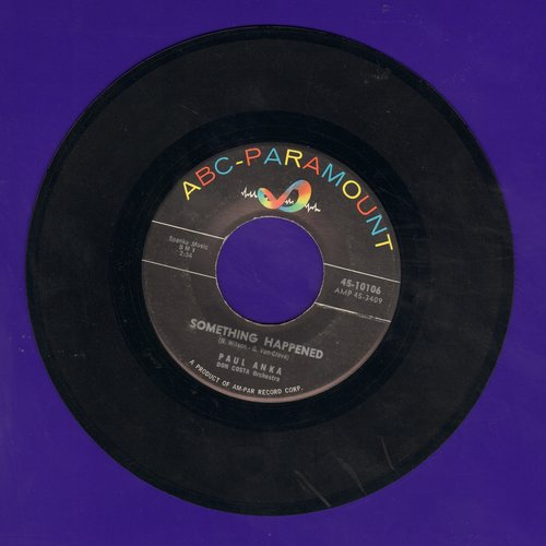 Anka, Paul - My Home Town/Something Happened - VG6/ - 45 rpm Records