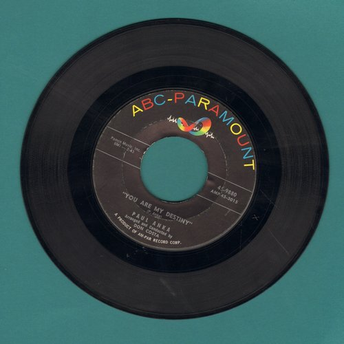 Anka, Paul - You Are My Destiny/When I Stop Loving You  - VG7/ - 45 rpm Records