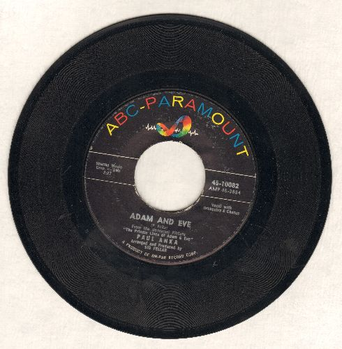 Anka, Paul - Puppy Love/Adam And Eve (obscure foreign pressing showing -Adam And Eve- as A-side rather than the US pressing with -Puppy Love- as the hit) - VG7/ - 45 rpm Records