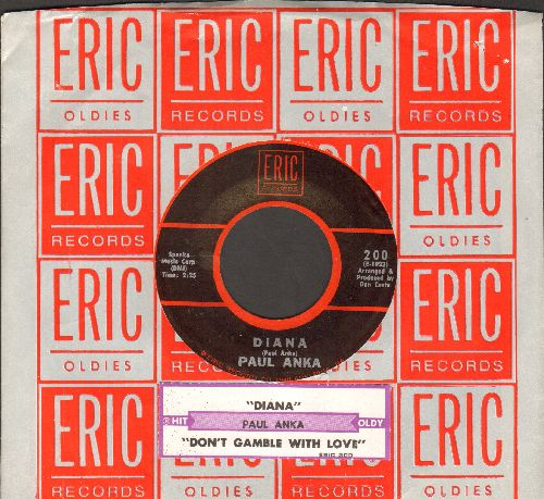Anka, Paul - Diana/Don't Gamble With Love (MINT condition 1970s re-issue with Epic company sleeve and juke box label) - M10/ - 45 rpm Records