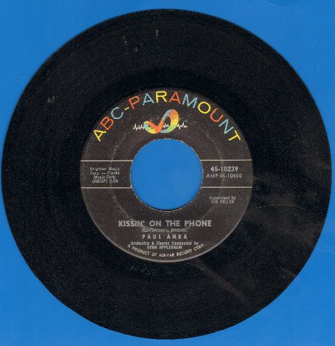 Anka, Paul - Cinderella/Kissin' On The Phone  - EX8/ - 45 rpm Records