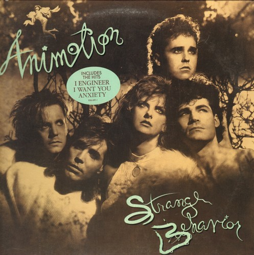 Animotion - Strange Behavior: I Engineer, I Want You, Anxiety, Out Of Control (vinyl STEREO LP record, DJ adance pressing) - NM9/EX8 - LP Records