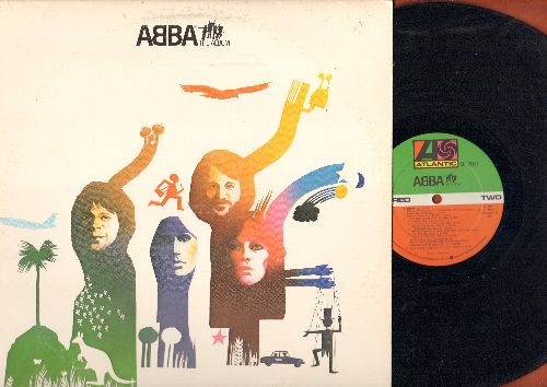 ABBA - The Album: Take A Chance On Me, The Name Of The Game, Eagle, Thank You For The Music (Vinyl STEREO LP record) - EX8/EX8 - LP Records