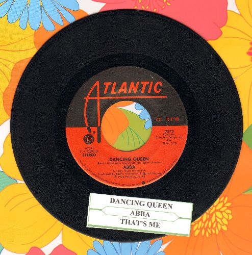 ABBA - Dancing Queen/That's Me (with juke box label) - EX8/ - 45 rpm Records
