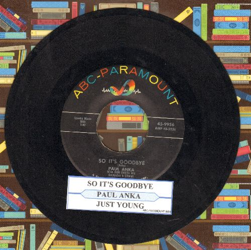 Bare Facts - Georgiana/Bad Part Of Town (RARE Psychedelic 2-sider with juke box label) (bb) - VG7/ - 45 rpm Records