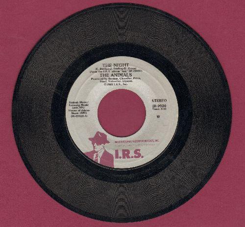 Animals - The Night/No John No  - EX8/ - 45 rpm Records