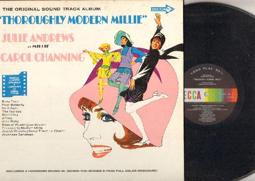 Andrews, Julie, Carol Channing - Thoroughly Modern Millie: The Original Sound Track Album (Vinyl MONO LP record) - Baby Face, Do It Again, The Tapioca, Japanese Sandman, Jazz Baby (includes color picture album)  - NM9/NM9 - LP Records