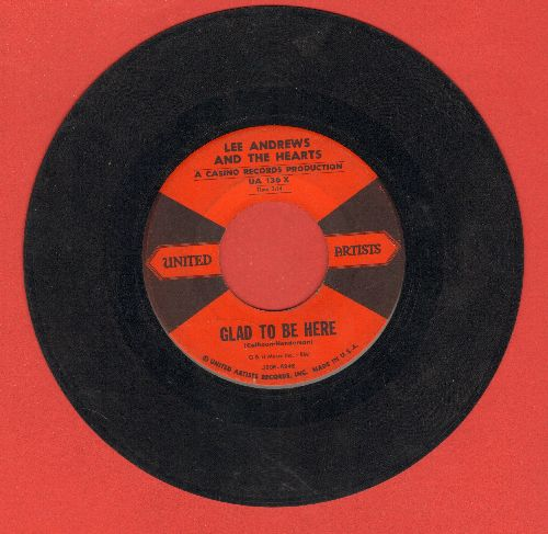 Andrews, Lee & The Hearts - Glad To Be Here/Why Do I  - VG7/ - 45 rpm Records