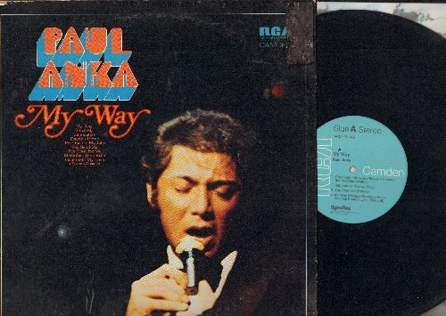 Anka, Paul - My Way: Sincerely, Silhouettes, Daddy's Home, You Send Me, I've Gotta Be Me, Memphis, Goodnight My Love (Pleasant Dreams) (Vinyl STEREO LP record) - NM9/VG7 - LP Records