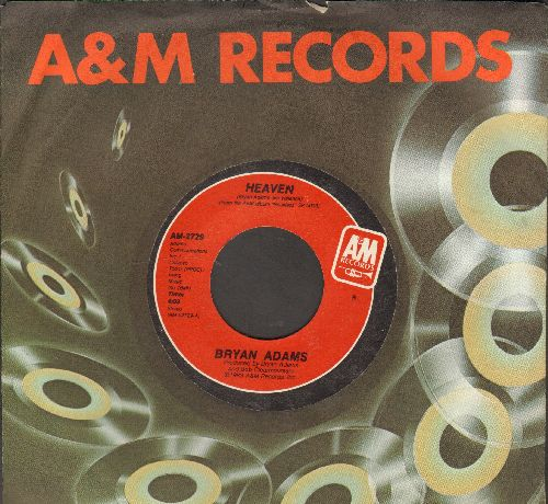 Adams, Bryan - Heaven/Heaven (Live) (with company sleeve) - NM9/ - 45 rpm Records