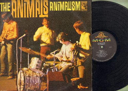 Animals - Animalism: Lucille, Hit The Road Jack, All Night Long, Shake, Louisiana Blues (Vinyl MONO LP record) - VG7/VG7 - LP Records