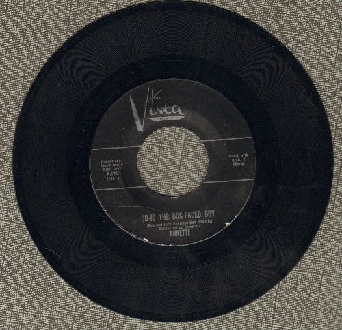 Annette - Jo-Jo The Dog-Faced Boy/Lonely Guitar (black label first issue with RAE Vista company sleeve) - NM9/ - 45 rpm Records