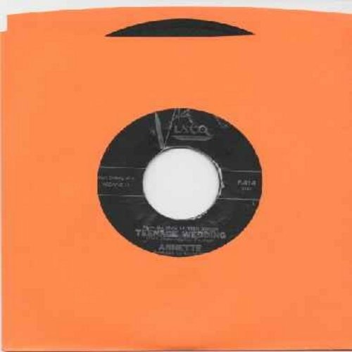 Annette - Teenage Wedding/Walkin' And Talkin (most RARE of all Annette 45s) - VG7/ - 45 rpm Records