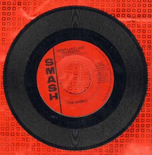 Angels - Snowflakes And Teardrops/Wow Wow Wee (He's The Boy For Me) (bb) - VG7/ - 45 rpm Records
