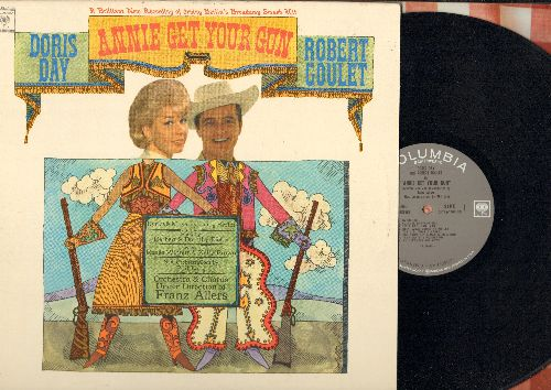 Day, Doris, Robert Goulet - Annie Get Your Gun: Doin' What Comes Naturally, Anything You Can Do, I'm An Indian Too, You Can't Get A Man With A Gun (Vinyl MONO LP record, NICE condition!) - NM9/NM9 - LP Records