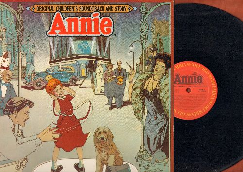 Annie - Annie - Original Children's Soundtrack And Story, gate-fold cover with parlour game-board, NICE gimmick! (vinyl LP record) - NM9/NM9 - LP Records