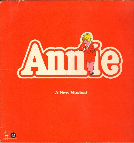 Annie - Annie - A New Musical - Original Broadway Cast (vinyl LP record, gate-fold cover) - EX8/VG7 - LP Records