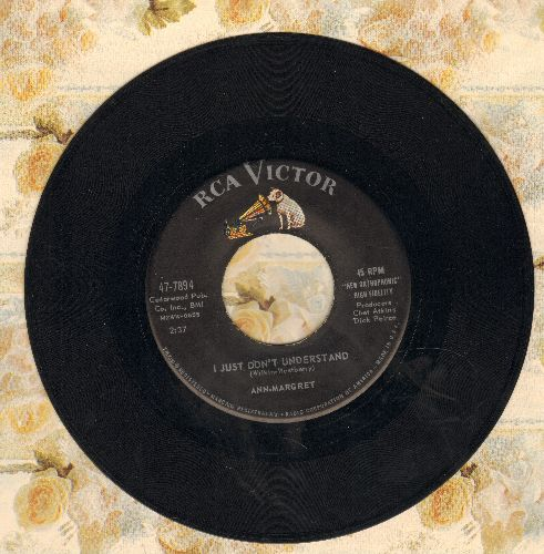 Ann-Margret - I Just Don't Understand/I Don't Hurt Anymore  - VG7/ - 45 rpm Records