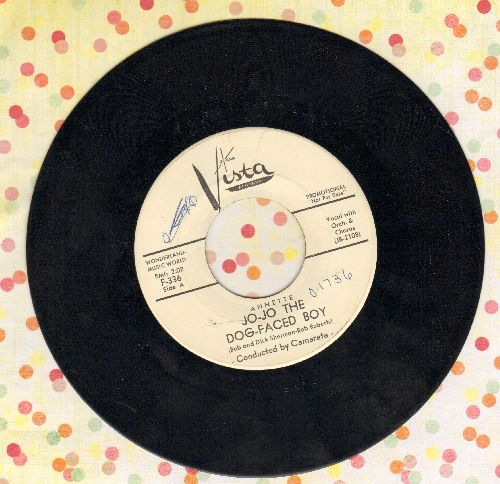 Annette - Jo-Jo The Dog-Faced Boy/Lonely Guitar (DJ advance pressing, minor wol) - EX8/ - 45 rpm Records