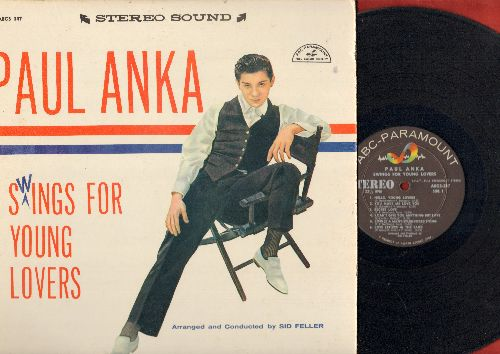 Anka, Paul - Swings For Young Lovers: You Made Me Love You, Secret Love, Train Of Love, I've Got My Love To Keep me Warm, I'm In The Mood For Love, I Can't Give You Anything But Love (vinyl STEREO LP record) - NM9/VG7 - LP Records