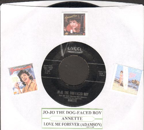 Annette - Jo-Jo The Dog-Faced Boy/Lonely Guitar (black label first issue with juke box label) - EX8/ - 45 rpm Records