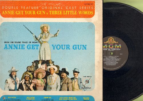 Annie Get Your Gun - Annie Get Your Gun - Original MGM Soundtrack Album: Anything You Can Do, They Say It's Wonderful, Doin' What Comes Naturally, You Can't Get A Man With A Gun (Vinyl LP record) - NM9/VG7 - LP Records