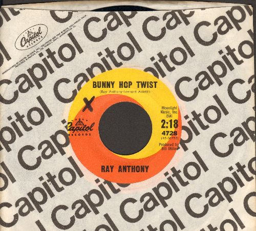 Anthony, Ray - Bunny Hop Twist/Tequila With A Twist (with Capitol company sleeve) - NM9/ - 45 rpm Records