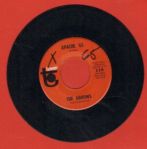 Arrows - Apache '65/Blue Guitar (wol) - NM9/ - 45 rpm Records