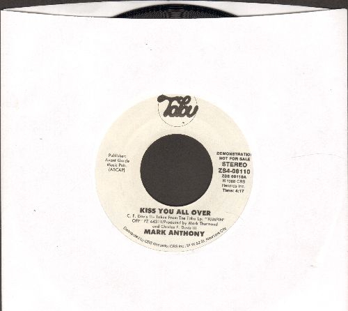 Anthony, Mark - Kiss You All Over (double-A-sided DJ advance pressing) - NM9/ - 45 rpm Records