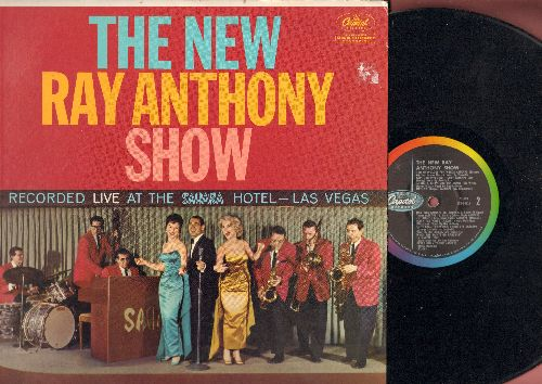 Anthony, Ray - The New Ray Anthony Show - Recorded LIVE at the Sahara Hotel, Las Vegas (Vinyl MONO LP record) - VG7/VG7 - LP Records