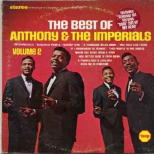 Little Anthony & The Imperials - The Best Of Little Anthony & The Imperials Volume 2: Georgy Girl, A Thousand Miles Away, When You Wish Upon A Star, Beautiful People, You Only Live Twice (Vinyl LP record) - NM9/EX8 - LP Records