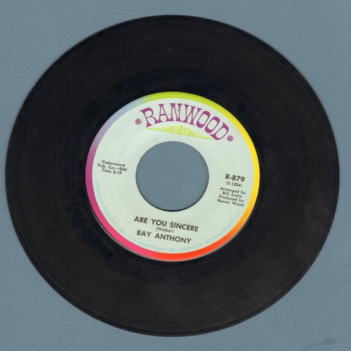 Anthony, Ray - Stand By Your Man/Are You Sincere - EX8/ - 45 rpm Records