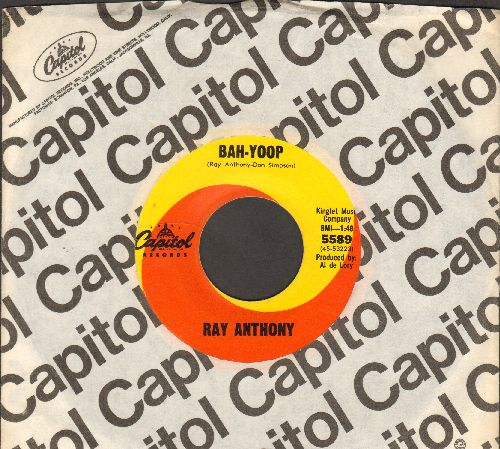Anthony, Ray - Bah-Yoop/It's Such A Happy Day (with Capitol company sleeve) - VG7/ - 45 rpm Records